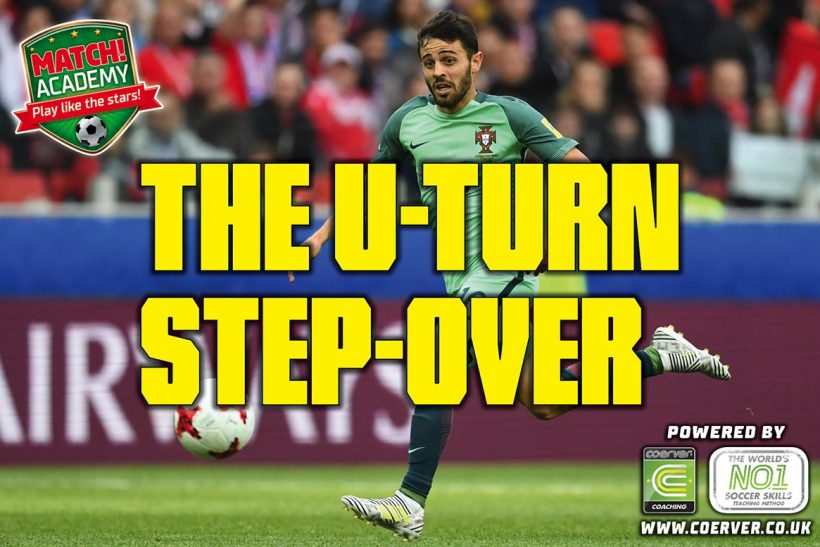 THE U-TURN STEP-OVER!
