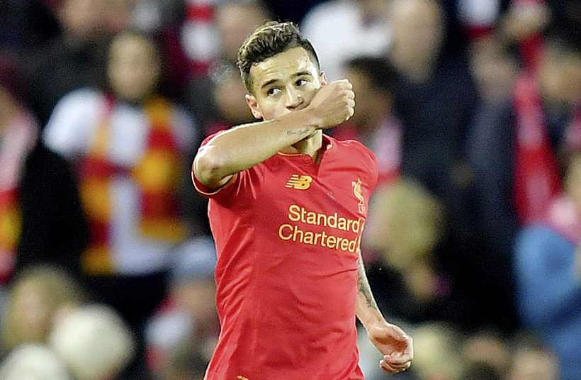 PHILIPPE COUTINHO…CHATS TO MATCH!