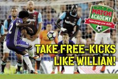 TAKE FREE-KICKS LIKE WILLIAN!