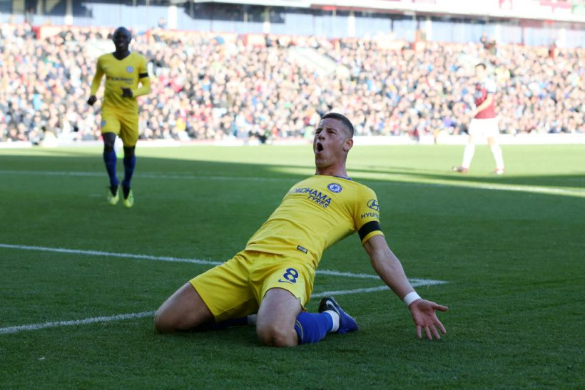 ROSS BARKLEY…ON FLAMES!