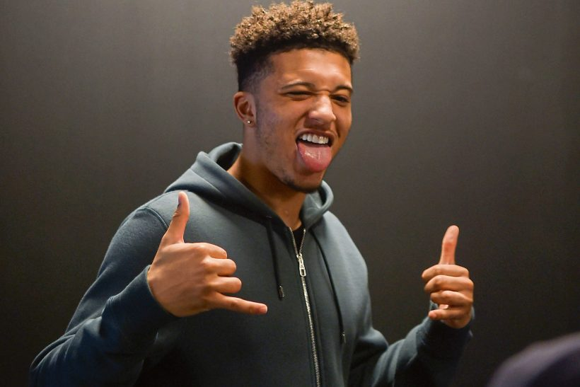 JADON SANCHO…BUNDESLIGA BOSS!
