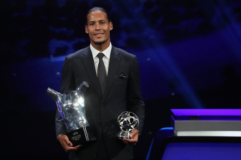 VIRGIL VAN DIJK…CHATS TO MATCH!