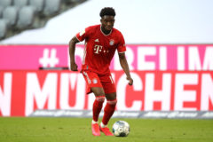 ALPHONSO DAVIES…CHATS TO MATCH!
